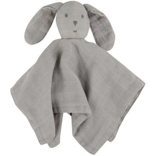 Weegoamigo Bamboo Lovie Comforter Soft Grey